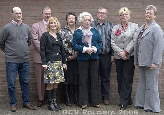 Het bestuur van BCV Polonia 2008